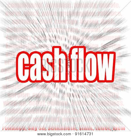 Cash Flow Word Cloud