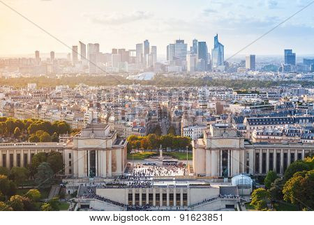 Cityscape Of New Paris City, France