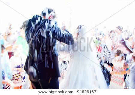 Young Couple Just Married