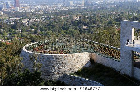 Exteriors Of The Getty Center, Los Angeles, California