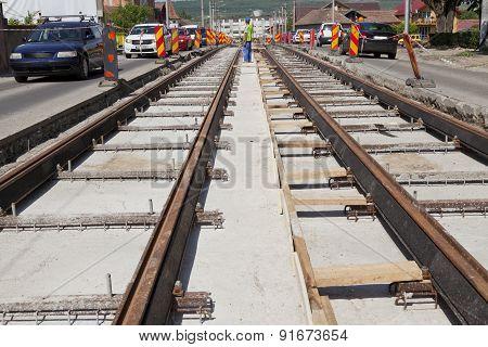Railway Construction Site
