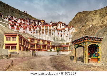 Rizong Monastery, Ladakh, Jammu And Kashmir, India