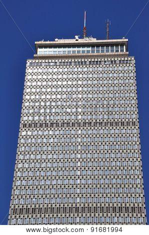 Prudential Tower in Boston, Massachusetts