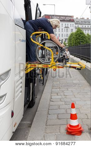 Physically Disabled Bus Accessibility Platform