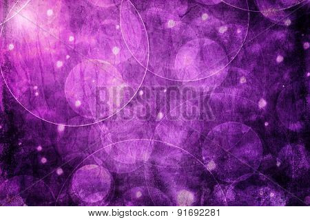 Abstract Purple Bokeh Background