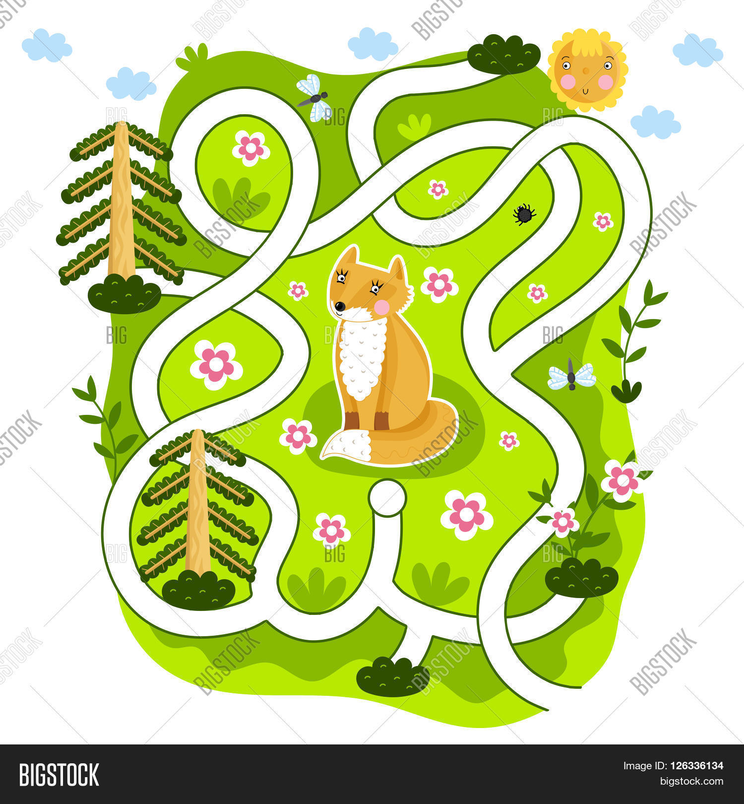 Maze Raster, Maze Game Image & Photo (Free Trial) | Bigstock