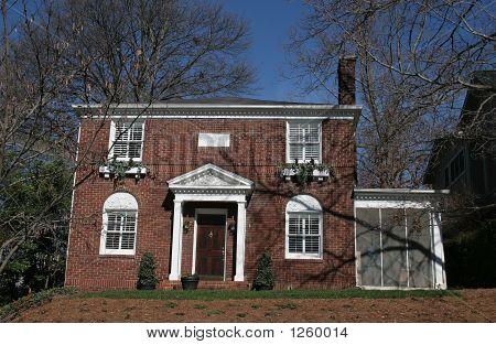 Brick House On Hill