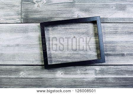 Black See-through Frame