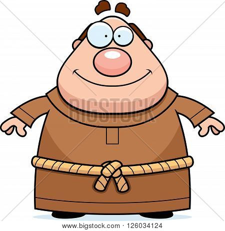 Monk Smiling