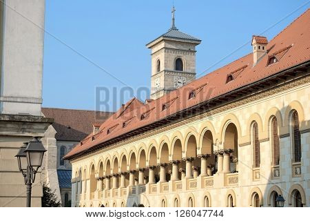Carolina Citadel of Alba Iulia in Romania is a very interesting combination of architectural styles: Romanesque, Gothic, Renaissance and Baroque