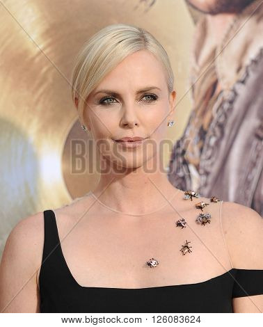 LOS ANGELES - APR 11:  Charlize Theron arrives to the