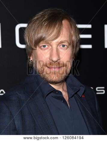 LOS ANGELES - APR 12: Morten Tyldum arrives to the Cinema Con 2016: Sony Pictures Presentation on April 12, 2016 in Las Vegas, NV.