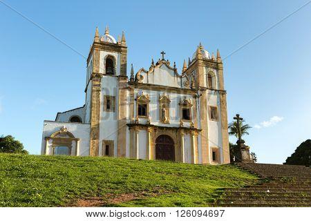 Carmo church in Olinda, Pernambuco, Brazil