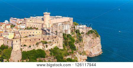 Aragonese-angevine Castle, Gaeta, Italy