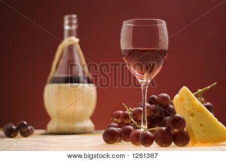 Red Wine, Grape, Cheese Iii