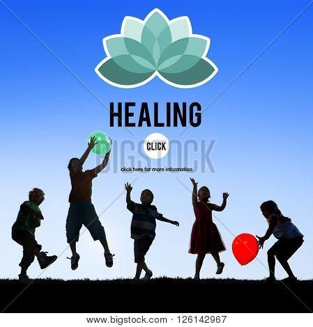 Healing Healthcare Restoration Improvement Physical Development Concept