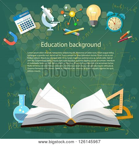 Time to education open book school subjects power of knowledge back to school effective education