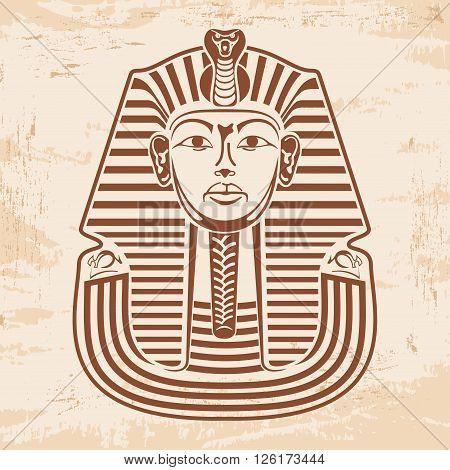 Egyptian Pharaoh's Mask.
