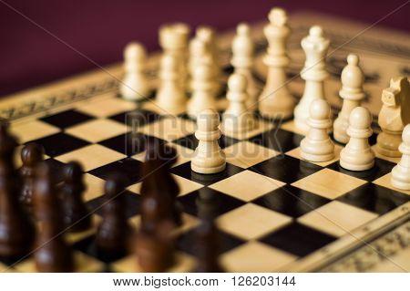 chess, chessboard, pawn, chessman, game, strategy, mind, attentiveness