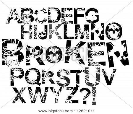 Font Broken.