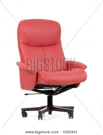 Red Luxury Office Chair