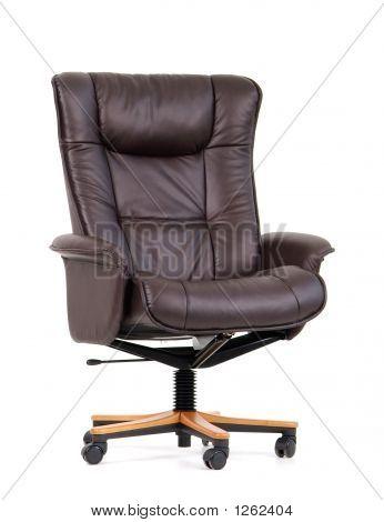 Schwarze Luxus Bürostuhl