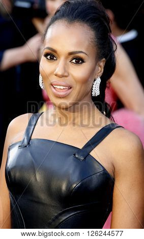 Kerry Washington at the 88th Annual Academy Awards held at the Dolby Theatre in Hollywood, USA on February 28, 2016.