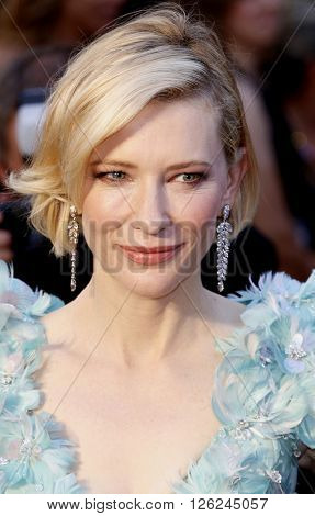 Cate Blanchett at the 88th Annual Academy Awards held at the Dolby Theatre in Hollywood, USA on February 28, 2016.