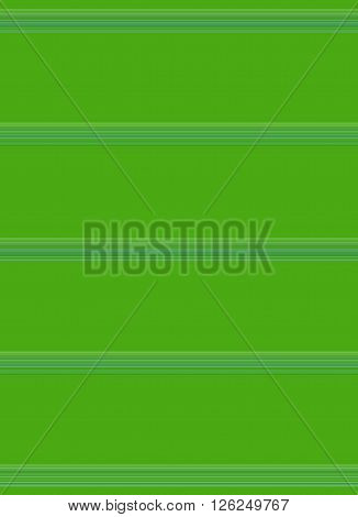 Bright green background with pinstripes in coordinating colors to break up wide spaces for effect or text. Can be oriented horizontally or vertically.