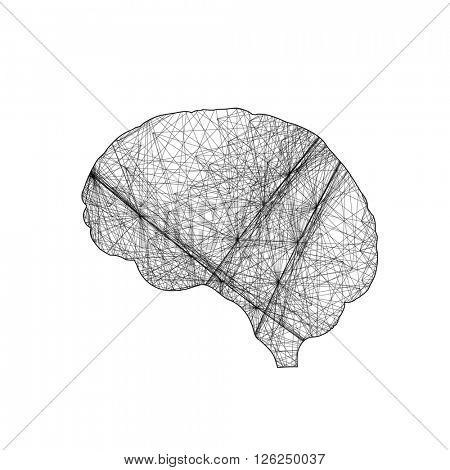 brain business icon easy editable