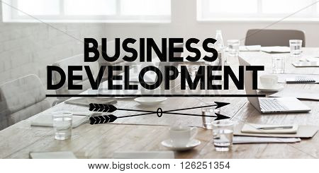 Business Development Organization Strategy Concept