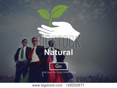 Natural Plants Nature Environment Word Concept