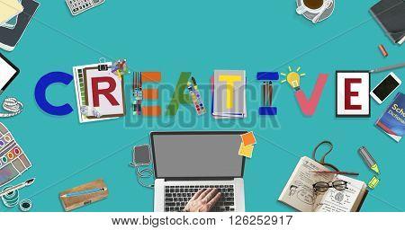 Creative Ideas Design Imagination Inspiration Style Concept