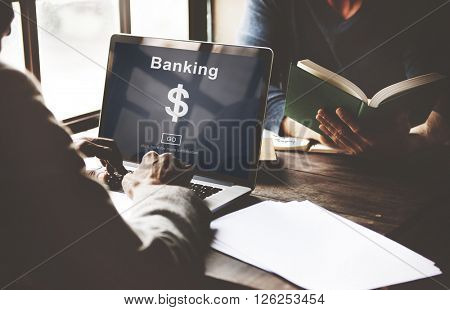 Business Meeting Financial Banking Concept
