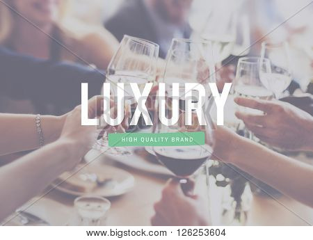 Luxury Expensive Lavishness Relaxation Class Concept poster