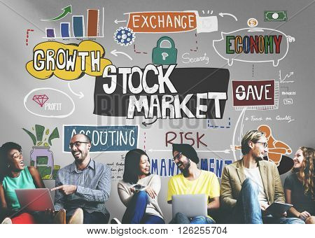 Stock Market Finance Exchange Economy Forex Concept