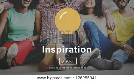 Inspiration Imagination Innovation Motivate Concept