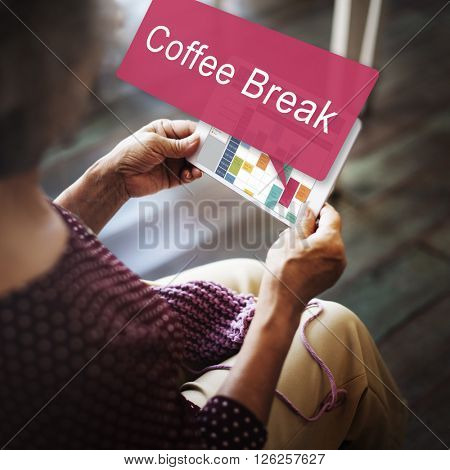 Coffee Break Enjoyment Relaxation Cafe Concept
