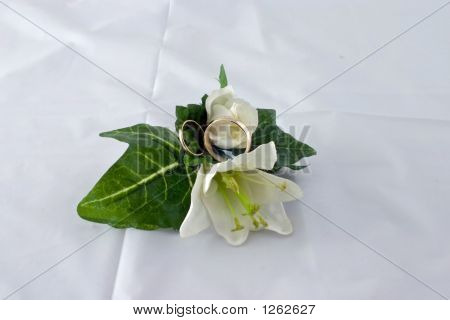 Boutonniere And Rings