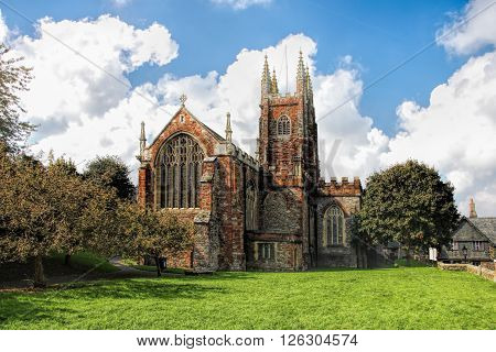 St Mary's Church In Totnes, England, Uk