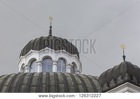 Sofia Bulgaria April 14 : The Sofia Synagogue Is The Largest Synagogue In Southeastern Europe, One O