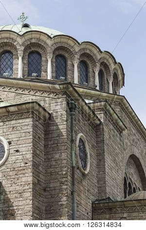 St Nedelya Church (nagia Nedelja) , Holy Sunday Church Is An Eastern Orthodox Church In Sofia, Bulga