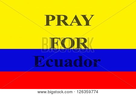 Pray for Ecuador, earthquake is a phenomena