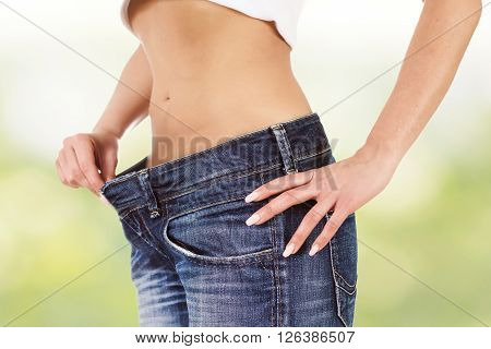 Slim Attractive Waist Woman