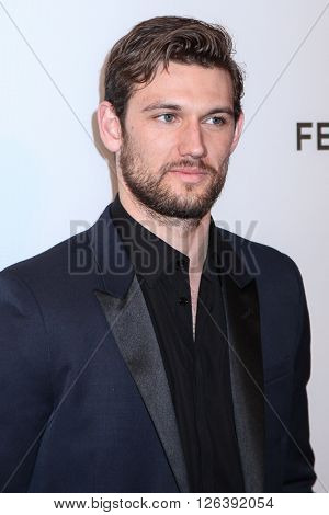 NEW YORK, NY - APRIL 18: Actor Alex Pettyfer attends the 'Elvis & Nixon' Premiere during the 2016 Tribeca Film Festival at BMCC John Zuccotti Theater on April 18, 2016 in New York City