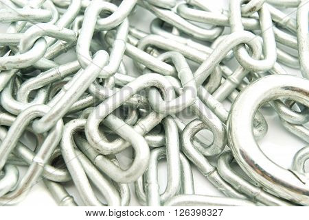 Metal Chain With Carabiner