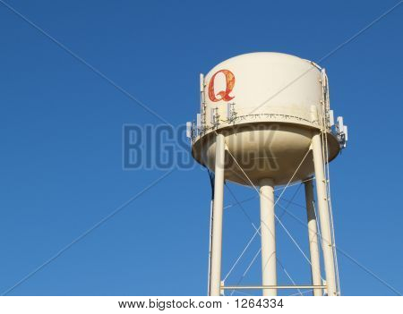 Water Tower With Q