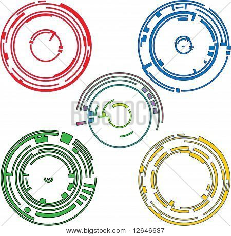 Ring graphic elements