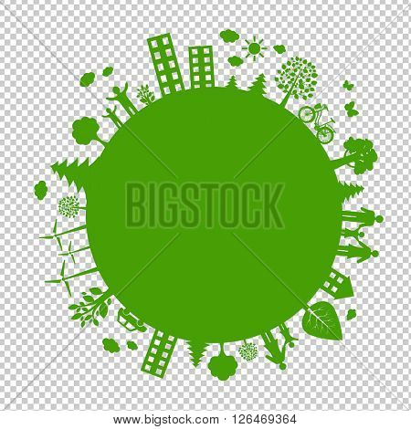 , Isolated on Transparent Background