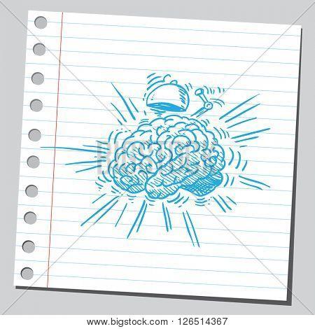 Alarm brain